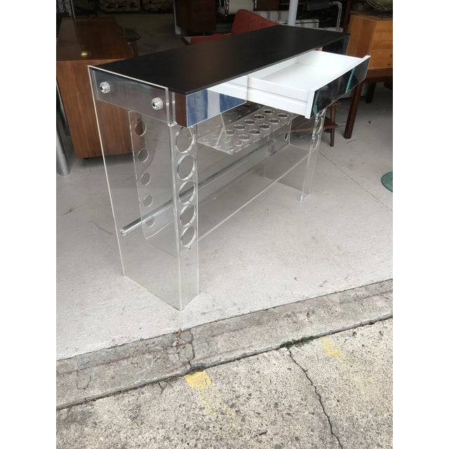 1970s Lucite Ghost Bar Hill Manufacturing For Sale - Image 5 of 10