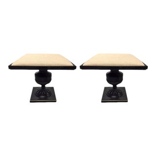 Pair of James Mont Stools