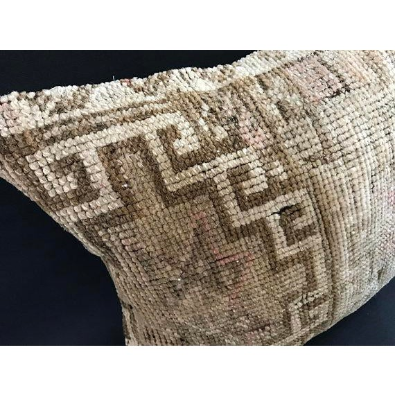 Beige Anatolian Handwoven Vintage Pillowcase For Sale - Image 8 of 11