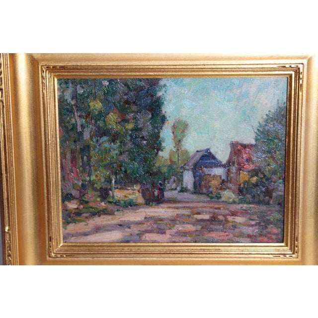 American Impressionistic Oil on Board by Roy Brown (American, 1879-1956) For Sale - Image 4 of 13