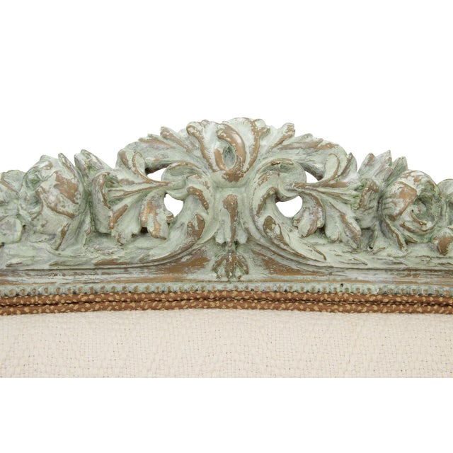 Antique Louis XVI Style Parlor Settee - Image 2 of 10