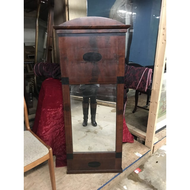 Mid 19th Century Antique Tall Biedermeier Mirror For Sale In New York - Image 6 of 6