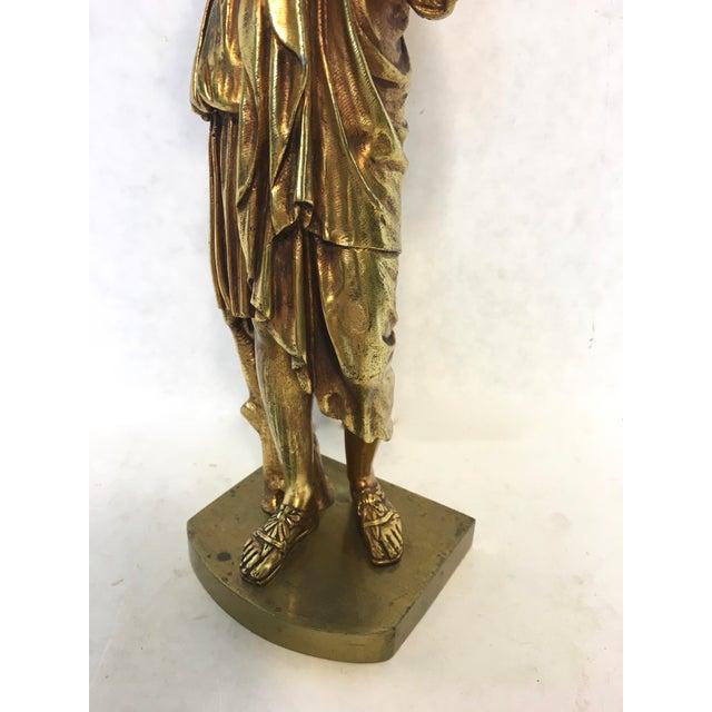 Bronze Neoclassical Grand Tour Statue - Image 8 of 8