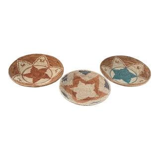 Trio of Handmade Southwestern Baskets For Sale