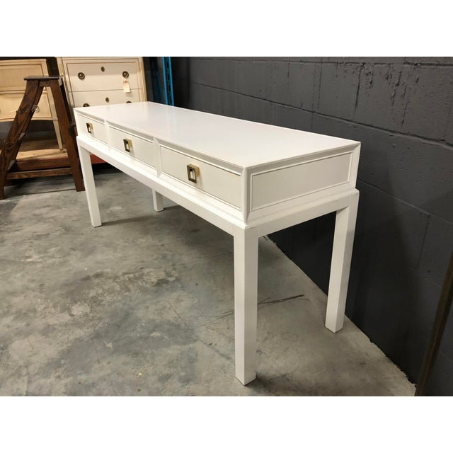 Somerset Bay Console Table For Sale - Image 11 of 13