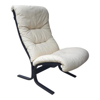 1980s Westnofa Siesta Ingmar Relling High Back Lounge Chair For Sale