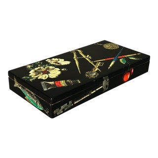 Fornasetti Decorative Wooden Box For Sale