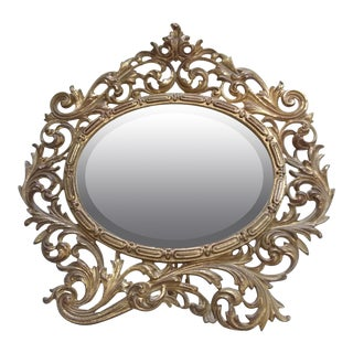 Antique Vanity Mirror For Sale