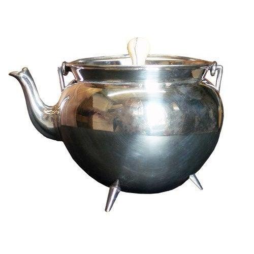 Bone Christopher Dresser Silver Teapot For Sale - Image 7 of 7