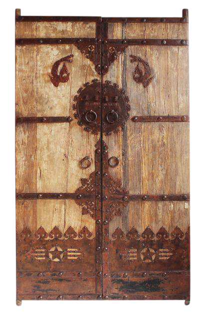 Antique Chinese Elm Door  sc 1 st  Chairish & Vintage \u0026 Used Chinese Doors and Gates | Chairish
