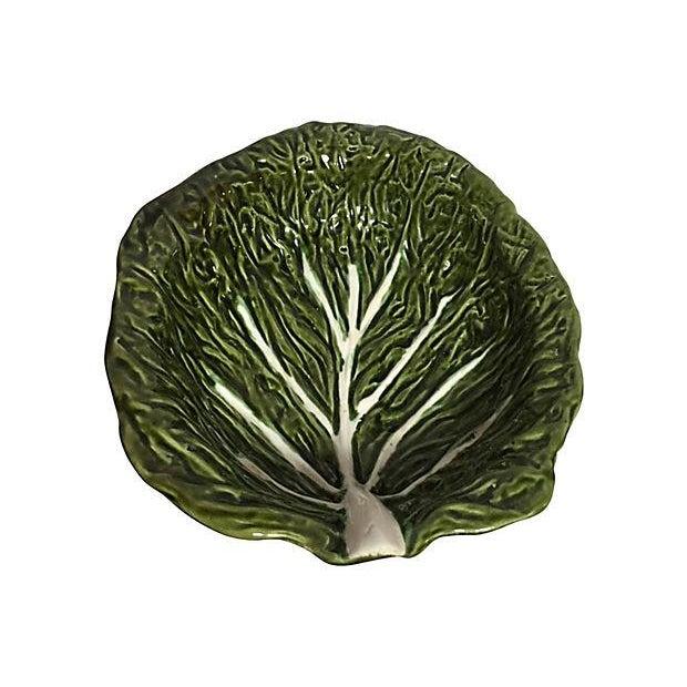 Cabbage Leaf Serving Bowl - Image 2 of 3