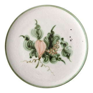 John B Taylor Harvest Plate Circa 1940 For Sale