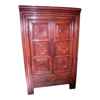 18th Century Chestnut Armoire For Sale