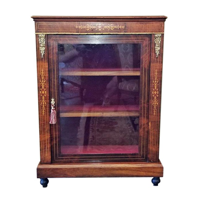 19c French Louis XVI Style Vitrine For Sale