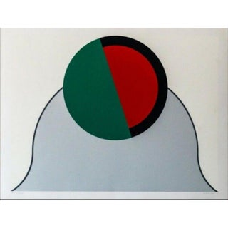 Takesada Matsutani Signal Hand Signed Numbered Screenprint For Sale