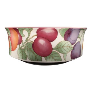 Villeroy & Boch Gallo Design Frutteto Round Vegetable Bowl, Germany For Sale
