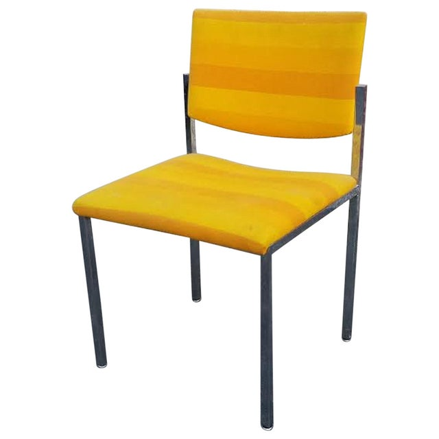 Steelcase Yellow Mid-Century Style Arm Chair - Image 1 of 5