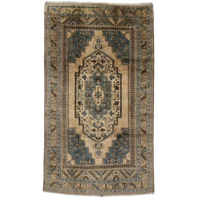 Vintage Turkish Oushak Rug with Tribal Elements - 05'10 X 10'02 For Sale In Dallas - Image 6 of 6
