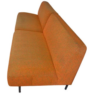 Settees, Pair, Midcentury, From Midwestern Frank Lloyd Wright Designed House For Sale