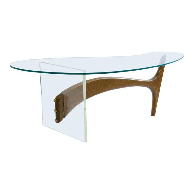 Kagan Coffee Table.1960s Mid Century Modern Vladimir Kagan Coffee Table