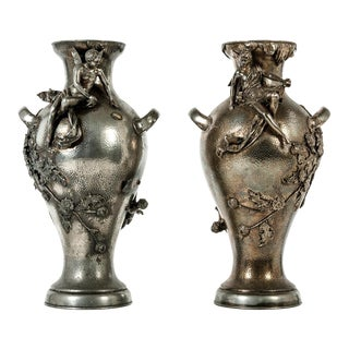 Early 19th Century Textured Handcrafted Pieces For Sale