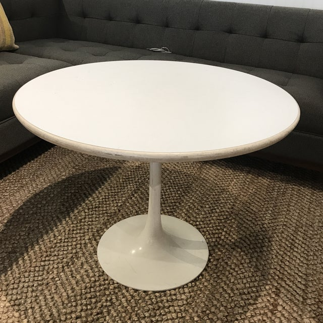 1960s Mid-Century Modern Tulip Side Table For Sale - Image 10 of 10