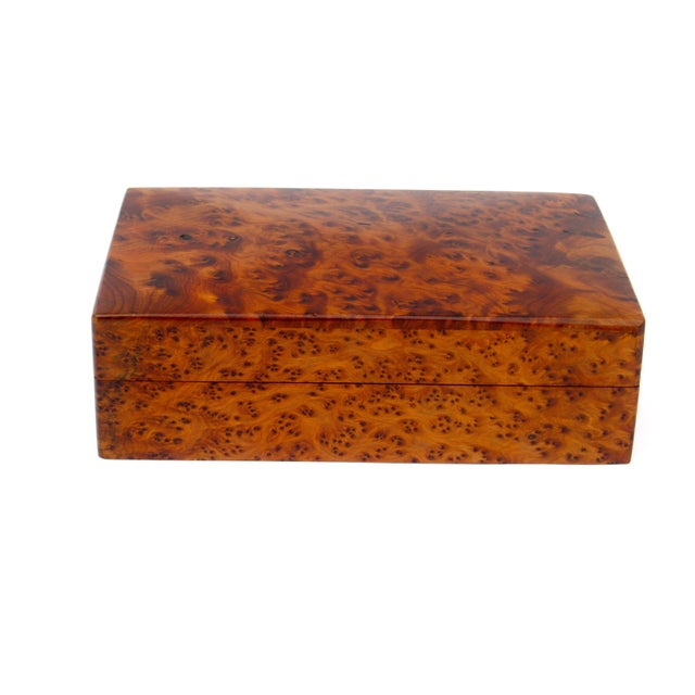Decorative Juniper Burl Wood Box - Image 2 of 7