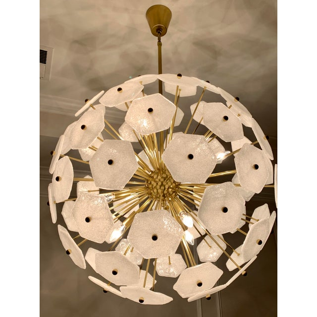 Metal Jonathan Adler Vienna Globe Chandelier Light Pendant For Sale - Image 7 of 9