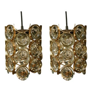 Palwa Cylindrical Pendants - a Pair For Sale