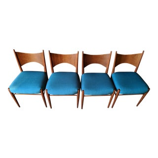 Broyhill Saga Mid Century Dining Chairs Set of 4