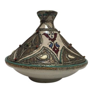 Moroccan Ceramic Tajine From Fez For Sale