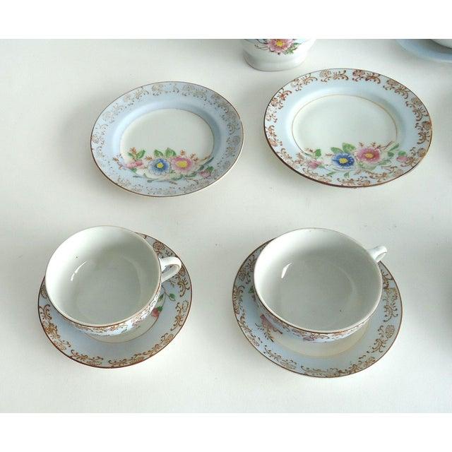 Antique Porcelain Child's Tea Set - 21 Pieces - Image 4 of 6