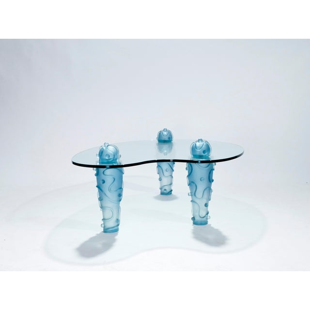 Large Coffee Table by Garouste & Bonetti, 1990s For Sale - Image 9 of 13