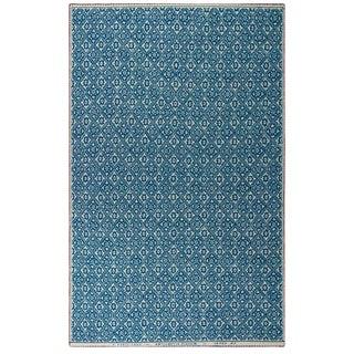 Renaissance N.25 Blue Cashmere Blanket, Queen For Sale