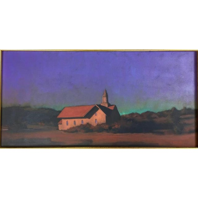 """""""Chapel on the Pond, North Truro"""" Painting - Image 3 of 7"""