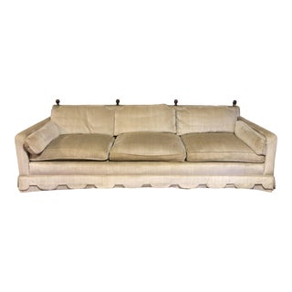 1960's Vintage Henredon Hollywood Regency Sofa For Sale