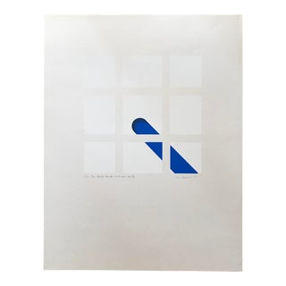 1973 Cis Lennaerts Artist's Abstract Proof Sérigraph For Sale