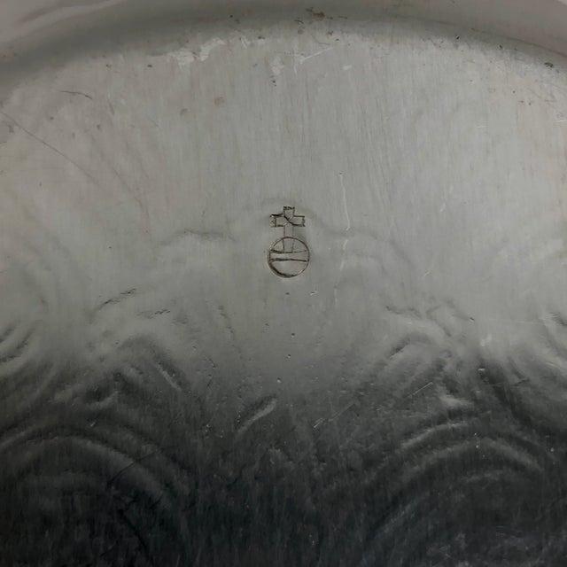 Barker Ellis Silver Plate Bowl For Sale - Image 4 of 6