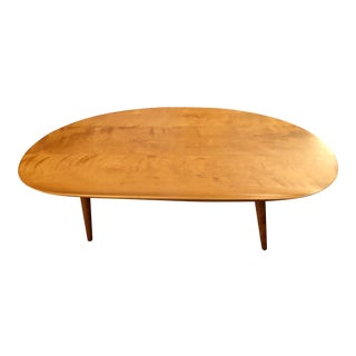 1950s Vintage Russell Wright for Conant Ball Surfboard Coffee Table For Sale
