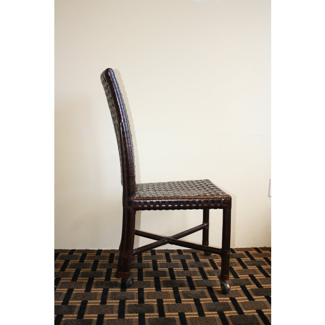 McGuire Antalya Side Dining Chair - Image 4 of 8