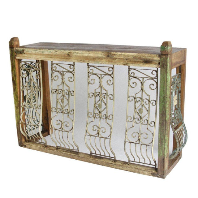 Iron Balcony Console Table - Image 2 of 5