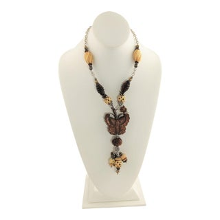 Amy Kahn Russell Butterfly Necklace For Sale