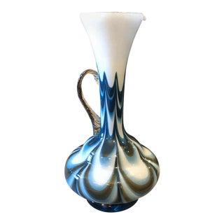1970s Mid-Century Modern Carlo Moretti Murano Glass Jug For Sale