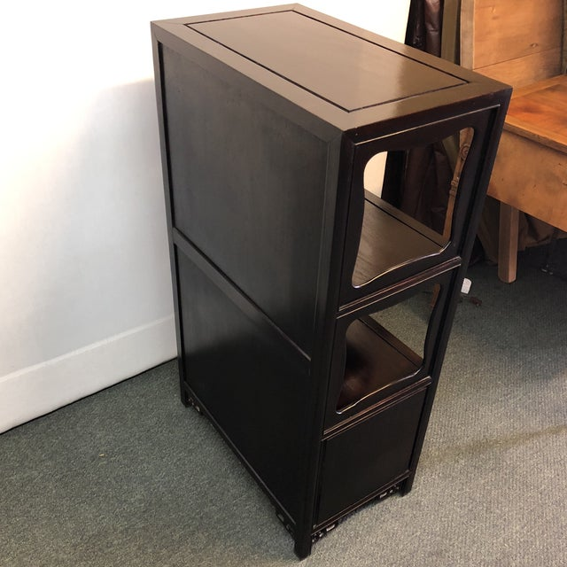 Asian Inspired Display Cabinet For Sale - Image 10 of 12