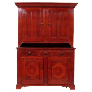 19th-C. Antique Pennsylvania Cupboard For Sale