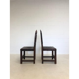 Rare Medieval Pair of Renaissance Era Dining Chairs Preview