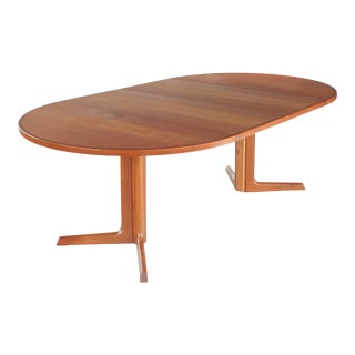 1960s Danish Modern Niels Møller for Gudme Danish Teak Extension Dining Table For Sale