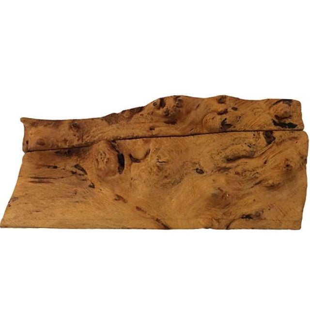 Michael Elkan Burl Wood Box For Sale - Image 5 of 5