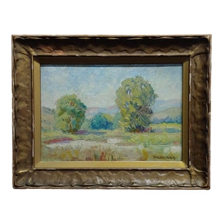 Maurice Braun - Study of a California Landscape -Oil Painting For Sale