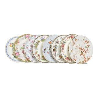 Vintage English Salad Plates-Set/8 For Sale
